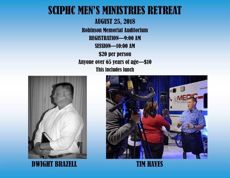 2018 Men's Retreat information