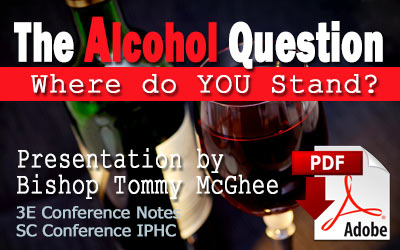 Alcohol Questioin by Tommy McGhee
