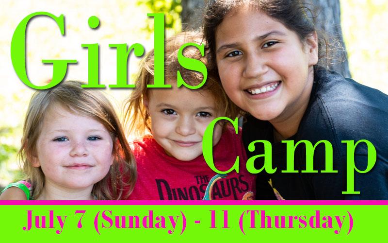 Girls Camp 2019
