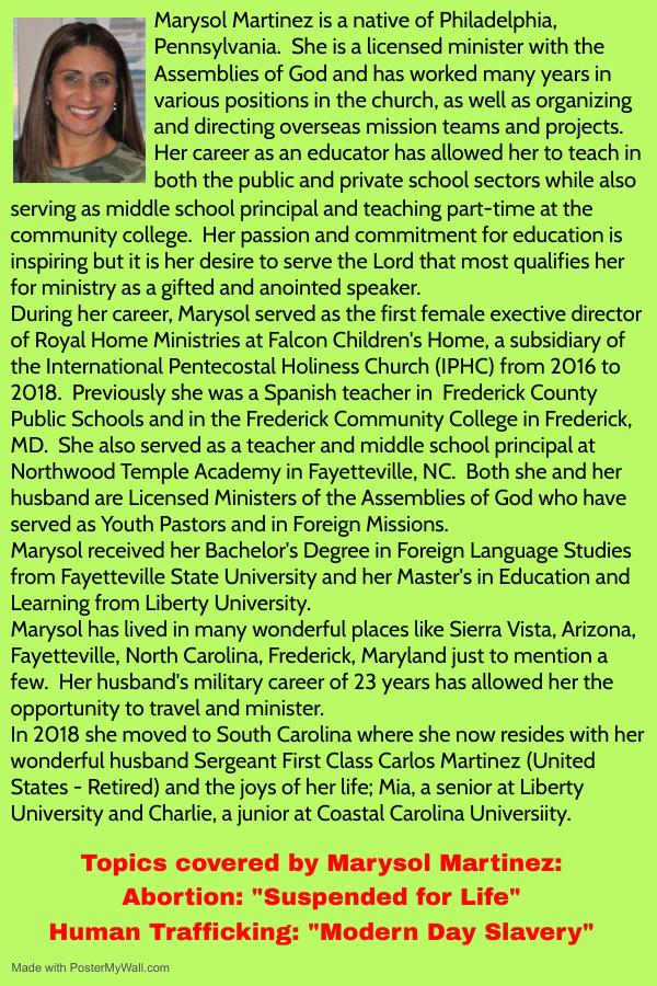3E Speaker - Marysol Martinez