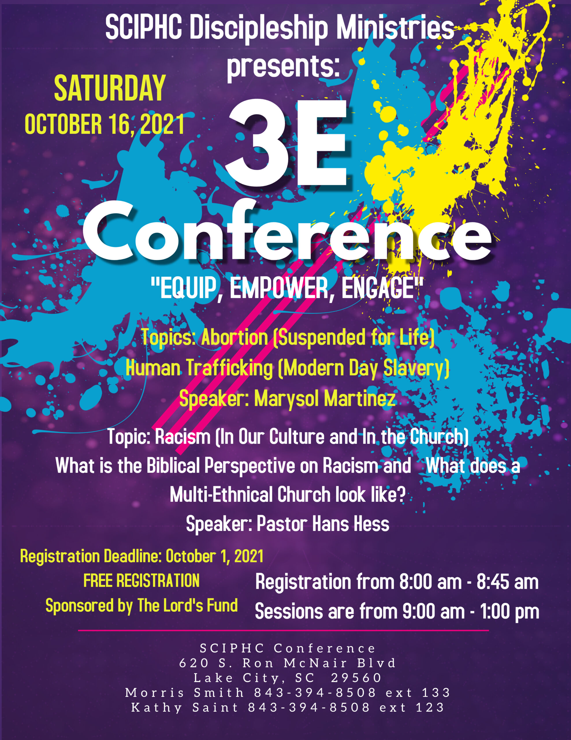Updated 3E Conference Flyer 2021