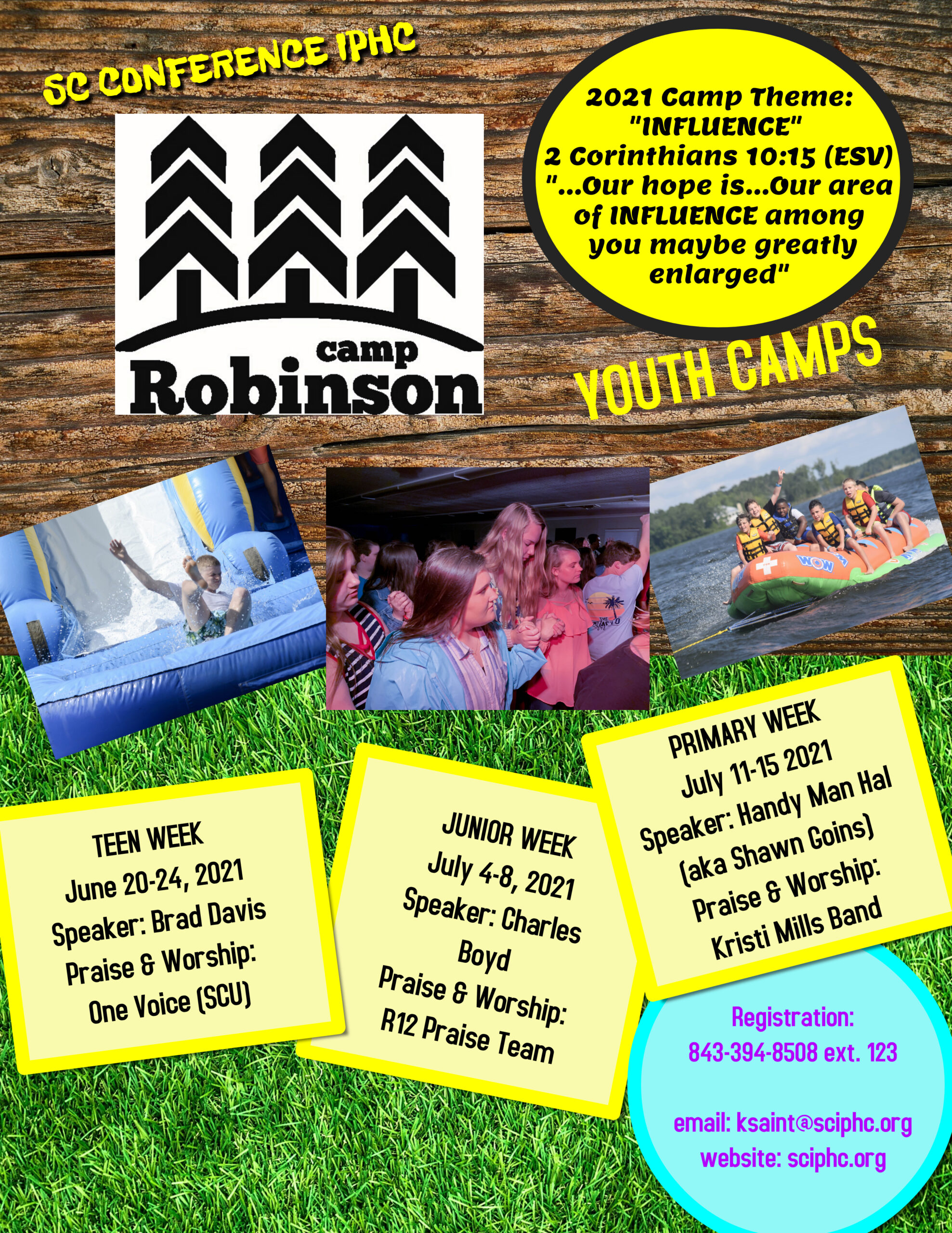 Youth Camp Flyer 2021